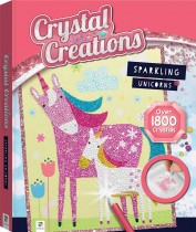 Crystal Creations: Sparkling Unicorns