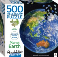 Puzzlebilities Shaped 500pc Jigasw: Planet Earth