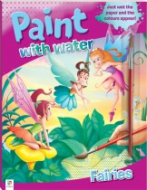Paint with Water: Fairies (2021 Ed)