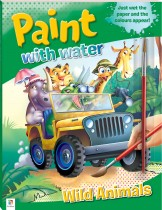 Paint with Water: Wild Animals (2021 Ed)