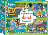 Junior Jigsaw: My Awesome 4 in 1 Puzzle Set