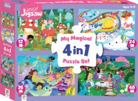 Junior Jigsaw: My Magical 4 in 1 Puzzle Set