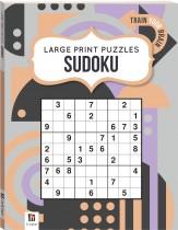 Large Print Puzzle Book: Sudoku