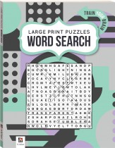 Large Print Puzzle Book: Word Search 1