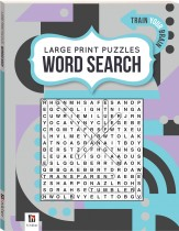 Large Print Puzzle Book: Word Search 2