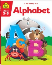 School Zone Get Ready! Alphabet (2021 Ed)