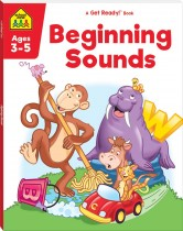 School Zone Get Ready! Beginning Sounds (2021 Ed)