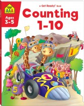 School Zone Get Ready! Counting 1-10 (2021 Ed)