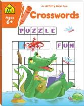 School Zone Activity Zone Crosswords (2021 Ed)