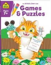 School Zone Activity Zone Games & Puzzles (2021 Ed)