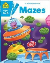 School Zone Activity Zone Mazes (2021 Ed)
