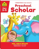 School Zone Preschool Scholar (2021 Ed)