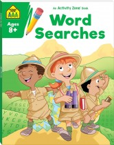 School Zone Activity Zone Word Searches (2021 Ed)