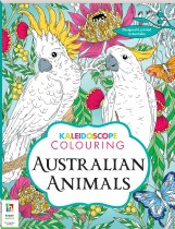 Kaleidoscope Colouring: Australian Animals