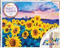 Paint by Numbers Canvas: Sunflower Fields