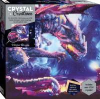 Crystal Creations Canvas: Vibrant Dragon