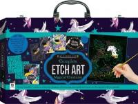 Kaleidoscope Etch Art Magical Creatures Carry Case