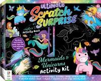 Ultimate Scratch Surprise Mermaids & Unicorns Activity Kit
