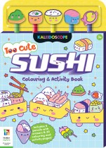 Too Cute Sushi Colouring and Activity Book