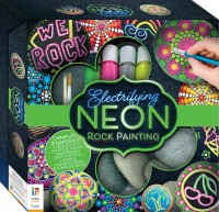 Deluxe Electrifying Neon Rock Painting Kit