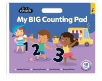 Junior Explorers: My Big Counting Pad