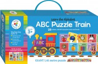 Building Blocks Puzzle Train: ABC