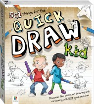 501 Things for the Quick Draw Kid (2021 ed)