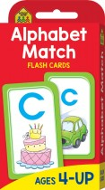 School Zone Alphabet Match Flash Cards