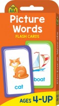 School Zone Picture Words Flash Cards