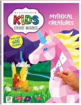 Kaleidoscope Kids Sticker Mosaics: Mythical Creatures