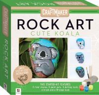 Craft Maker Rock Art Mini Kit: Cute Koala