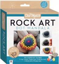 Craftmaker Rock Art: Dot Mandala
