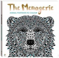 The Menagerie Colouring Book