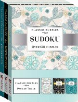 Classic Puzzles 3-pack Mixed Puzzles 1