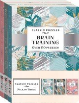 Classic Puzzles 3-pack Mixed Puzzles 2