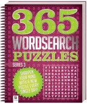 365 Puzzles: Wordsearch (Series 3)