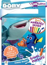 Inkredibles Finding Dory Carry Along Travel Markers