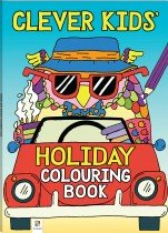 Clever Kids: Holiday Colouring Book