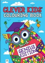 Clever Kids: Genius Colouring Book