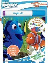 Inkredibles Finding Dory Magic Ink Pictures (2019 Ed)