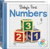 Building Blocks Numbers  Baby's First Padded Board Book