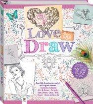 Love to Draw Binder