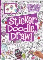 Sticker Doodle Draw! Purple