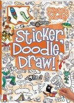 Sticker Doodle Draw! Orange