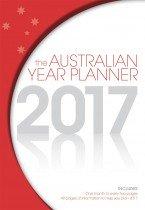 Australian Year Planner 2017