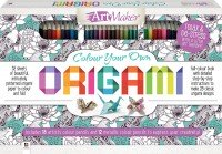 Art Maker Colour Your Own Origami 30-Pencil Kit