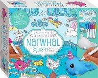 Kaleidoscope Colouring: Narwhal Squishy