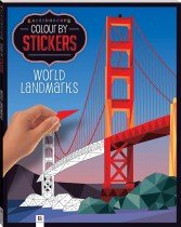 Kaleidoscope Colour by Stickers World Landmarks