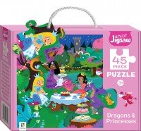 Junior Jigsaw Small: Dragons & Princesses