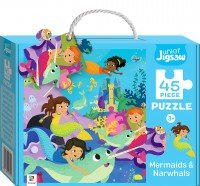 Junior Jigsaw Small: Mermaids & Narwhals